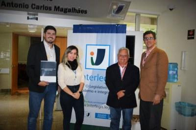 Visita da Câmara Municipal de São José/SC