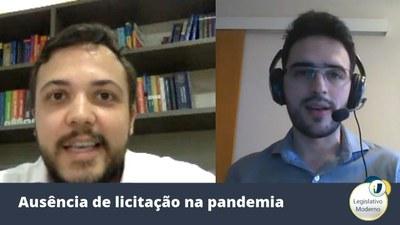 Allan Del Cistia e Felipe Cortês comentam os desafios das licitações durante a pandemia.