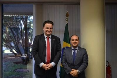 Visita do Deputado Federal Rodrigo Coelho PSB/SC