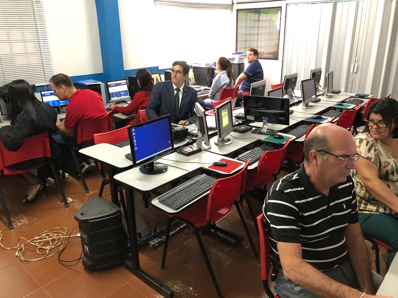 Monte Alegre-MG, Oficina de Portal Modelo e SAPL (20 a 24/05/19)
