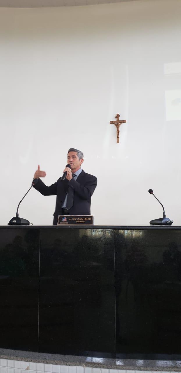 Adalberto Oliveira, servidor do Senado