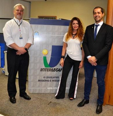 Visita do Presidente da Câmara de Vereadores de Erechim/RS