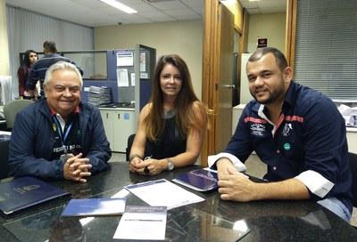 Visita do Presidente da Câmara Municipal de Santana do Deserto/MG