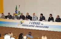 Aberto Fórum do I Censo do Legislativo Brasileiro
