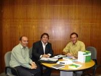 Presidente da Câmara de Cotegipe conhece os produtos e serviços do Interlegis