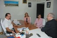 Diretor do Interlegis negocia realização de seminário em João Pessoa