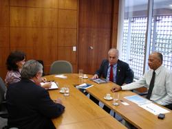 Presidente da Câmara Municipal de Belo Horizonte visita o Interlegis