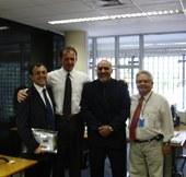 Interlegis recebe visita do representante da Câmara de Itapecerica da Serra e da Assembléia do Estado do Acre
