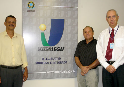 Interlegis recebe o prefeito e o presidente da Câmara Municipal de Aratuba – CE