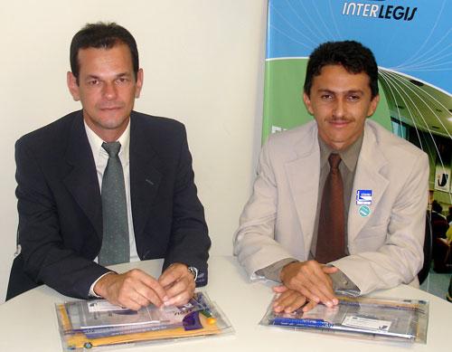 Interlegis recebe presidentes das Câmaras Municipais de Tenente Laurentino Cruz (RN) e Cerro Corá (RN)