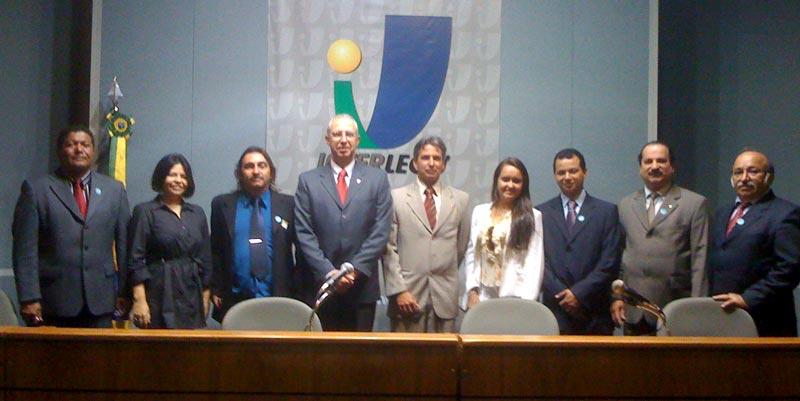 Interlegis recebe visitas de presidentes de câmaras municipais do Estado da Paraíba