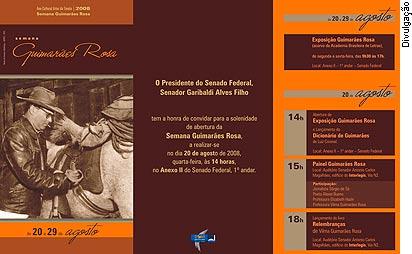 Interlegis sedia evento em comemoração ao centenário de Guimarães Rosa