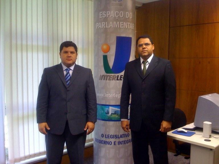 Câmara de Águas Belas (PE) visita o Interlegis