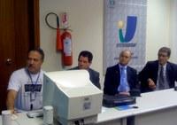 Vereadores de Minas do Leão/RS vêm ao Interlegis em busca de tecnologia, treinamento e modernização