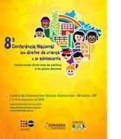 Reunião para a 8ª Conferência Nacional do CONANDA