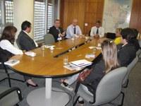 O Interlegis recebeu a visita da Assembléia Legislativa do Estado do Goiás