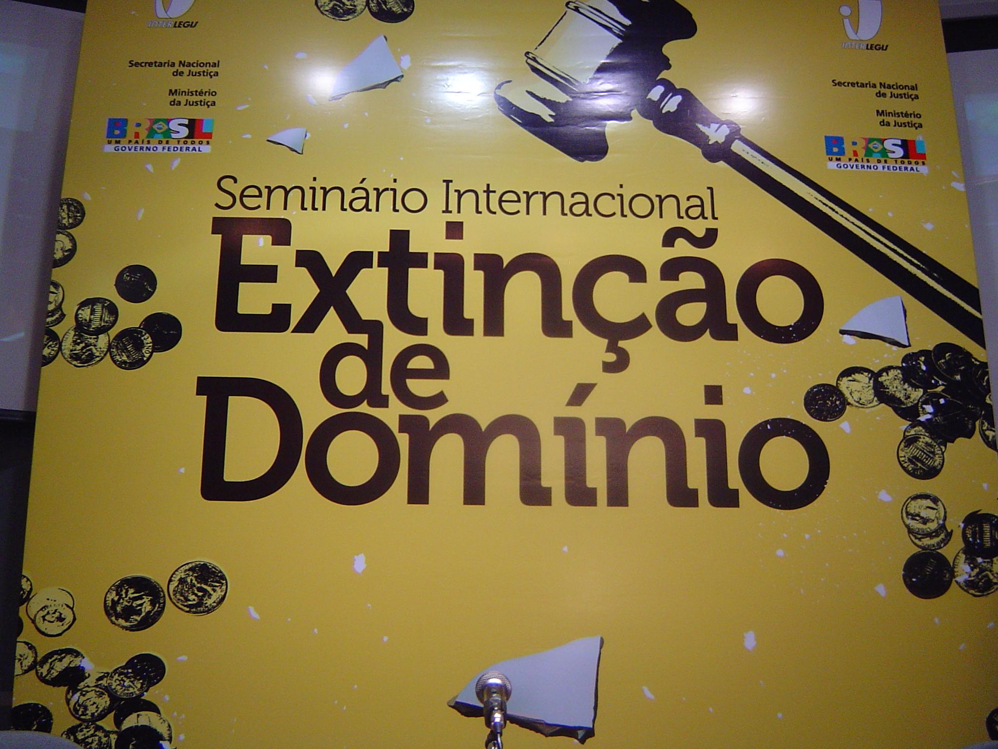 Seminário sobre extinção do domínio acontece no Interlegis