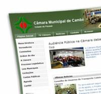 Câmara Municipal de Cambé – PR lança seu Portal Modelo