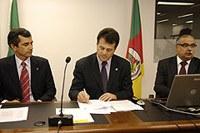 Interlegis e assembléia gaúcha assinam convenio