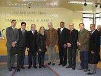 A Câmara Municipal de Alegrete/RS recebeu representantes da equipe técnica do Programa Interlegis