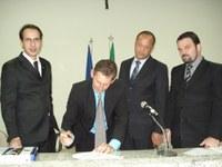Câmara de São Gabriel da Palha recebe equipe do Interlegis