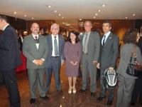 Comissão do legislativo brasileiro visita o Parlamento Uruguaio