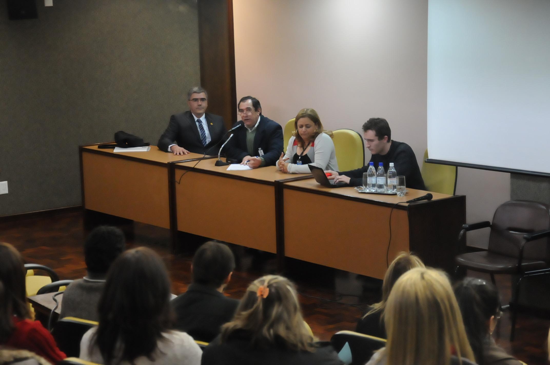 Equipe do Interlegis faz diagnóstico na Câmara de Caxias do Sul