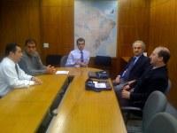Presidente da Câmara de Bento Gonçalves visita o Programa Interlegis