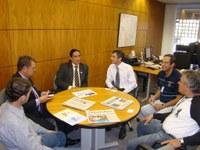 Presidente da Câmara de Birigui visita a sede do Interlegis