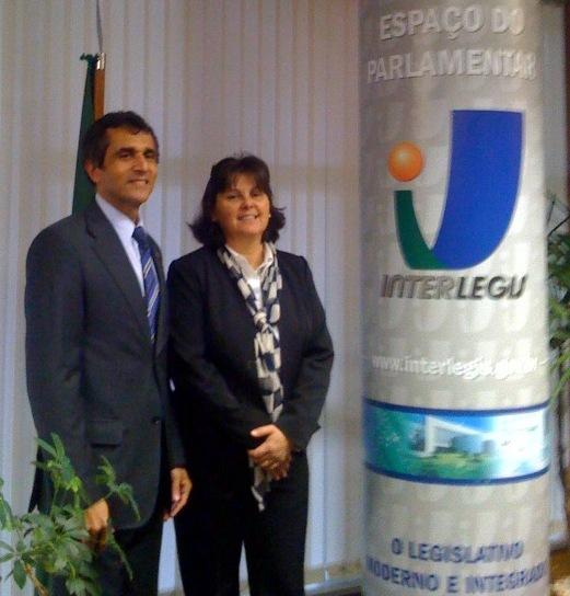 CM de Rio Claro, SP, busca parceria com Interlegis