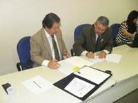 Interlegis assina com a Câmara Municipal de Teresina a primeira parceria de 2011 - 11/01