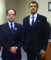 Presidente da CM de Itabuna/BA conhece sede do Interlegis