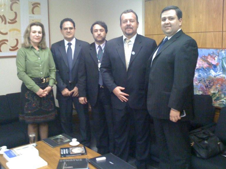 MODERNIZAÇÃO - Presidente da CM de Morretes/PR visita sede do Programa Interlegis