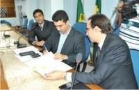 CAPACITAÇÃO - Câmara de Mossoró assina convênio com Interlegis do Senado Federal