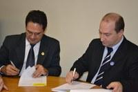 MODERNIZAÇÃO - Interlegis e Câmara de Bento Gonçalves, RS, assinam parceria