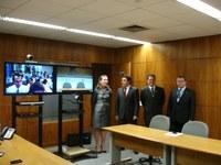 CAPACITAÇÃO - Senador Wilson Santiago participa, por videoconferência, de oficina na Paraíba