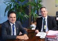 PARCERIA -  Câmara dos Deputados e  Interlegis juntos para a implantação do projeto .leg.br