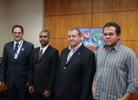 PARCERIA - Diretor da Câmara de Itabirito conhece sede do Interlegis