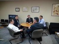 INSTITUCIONAL - Presidente e Secretário da União de Vereadores do Brasil visitam o Interlegis