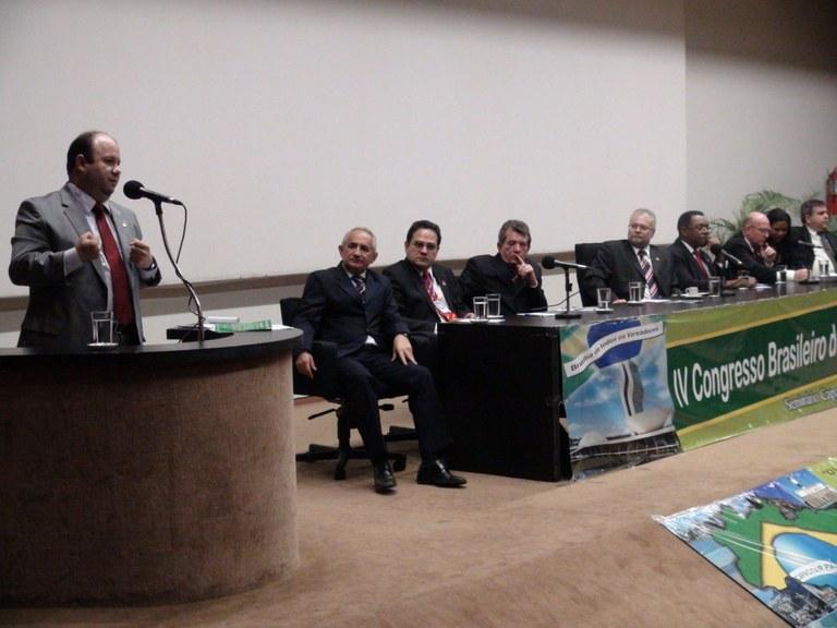 PARCERIA - Interlegis participa do IV Congresso da Associação Brasileira de Câmaras Municipais em Brasília