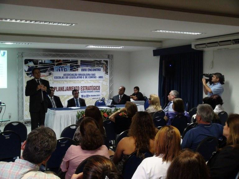 INTEGRAÇÃO - Haroldo Tajra detalha projeto para capacitar vereadores eleitos em 2012
