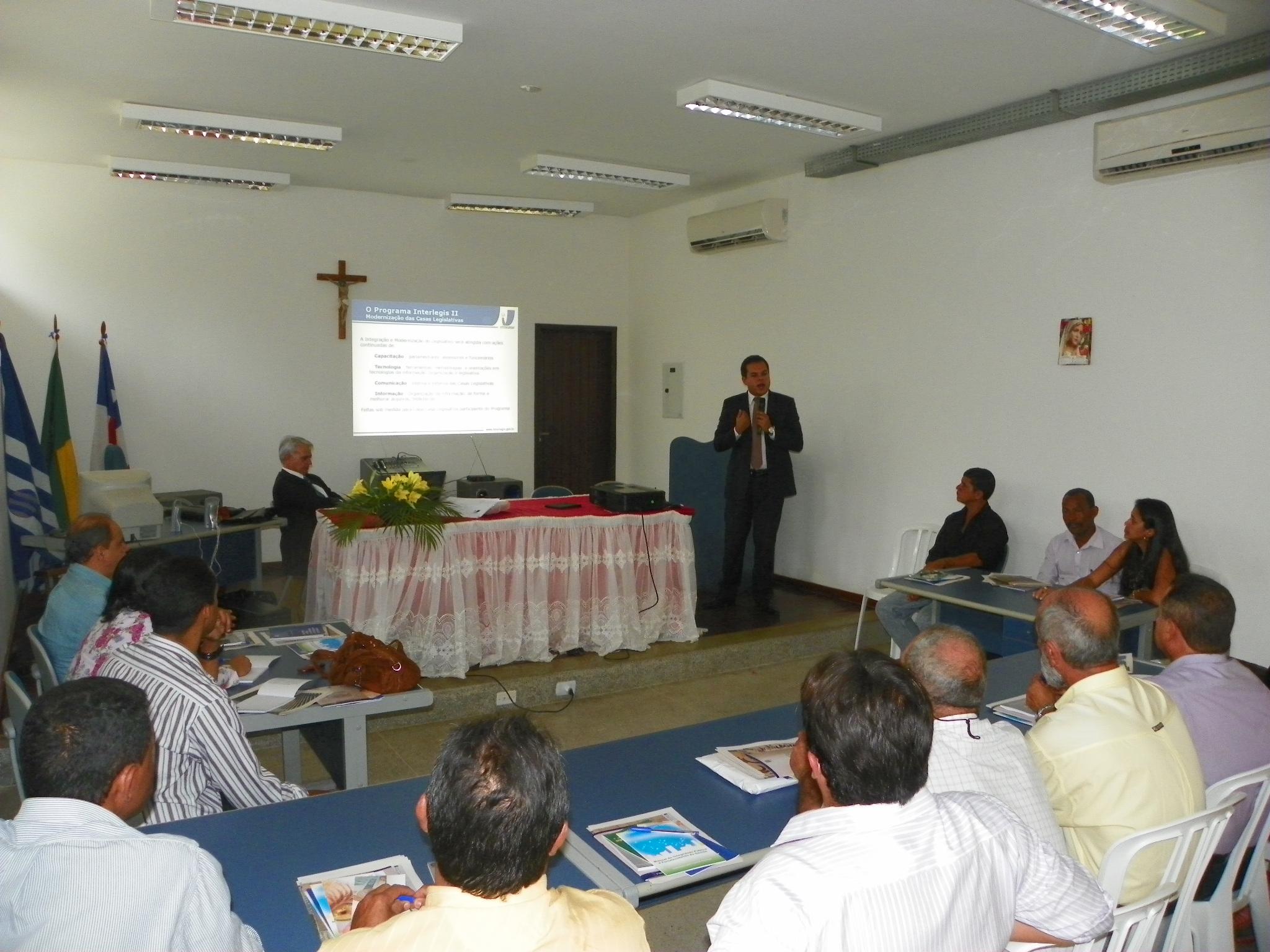 MODERNIZAÇÃO - Lençóis, na Bahia, recebe oficinas do Interlegis