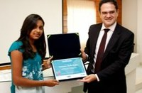ESPECIAL - Estudante de Serra Caiada recebe prêmio de Redação do Senado