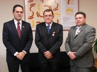 INTEGRAÇÃO - Câmara de Rolim de Moura planeja ações com Interlegis para 2012