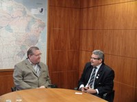 INSTITUCIONAL - Presidente da Câmara de Teresina convida o Interlegis para o lançamento da nova Lei Orgânica
