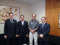 INTEGRAÇÃO - Câmara de São Miguel do Araguaia busca parceria com Interlegis