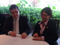 INTEGRAÇÃO - Diretora-Geral do Senado lança projeto Bibliolegis no encontro nacional de dirigentes legislativos