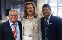 INTEGRAÇÃO - Presidente da Câmara de Caucaia busca incrementar a parceria com o Interlegis
