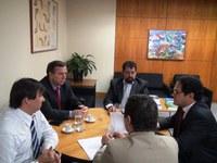 INTEGRAÇÃO - Comitiva da Assembleia de São Paulo visita o Interlegis