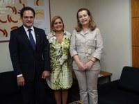 INTEGRAÇÃO - Vereadora de Duque de Caxias quer retomar parceria com o Interlegis